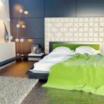 Увеличить пространство в спальне просто.