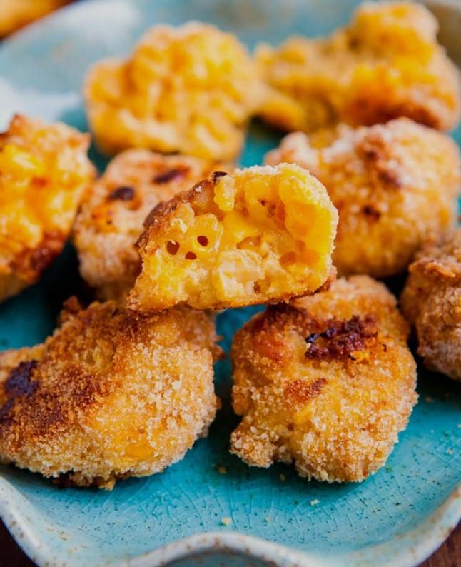 Макароны и сыр, превращаем во вкусняшку.