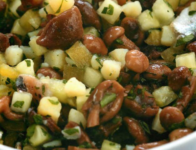 Салат картофельный «Зимний», вкусно, быстро и экономно!